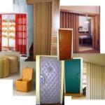 Typy lamelových dveří